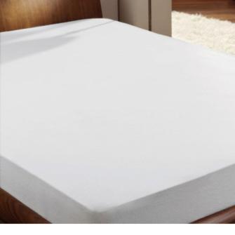 Doppelpack (2 Stück)Jersey Spannbettlaken Farbe: weiss, 70/140 100% Baumwolle