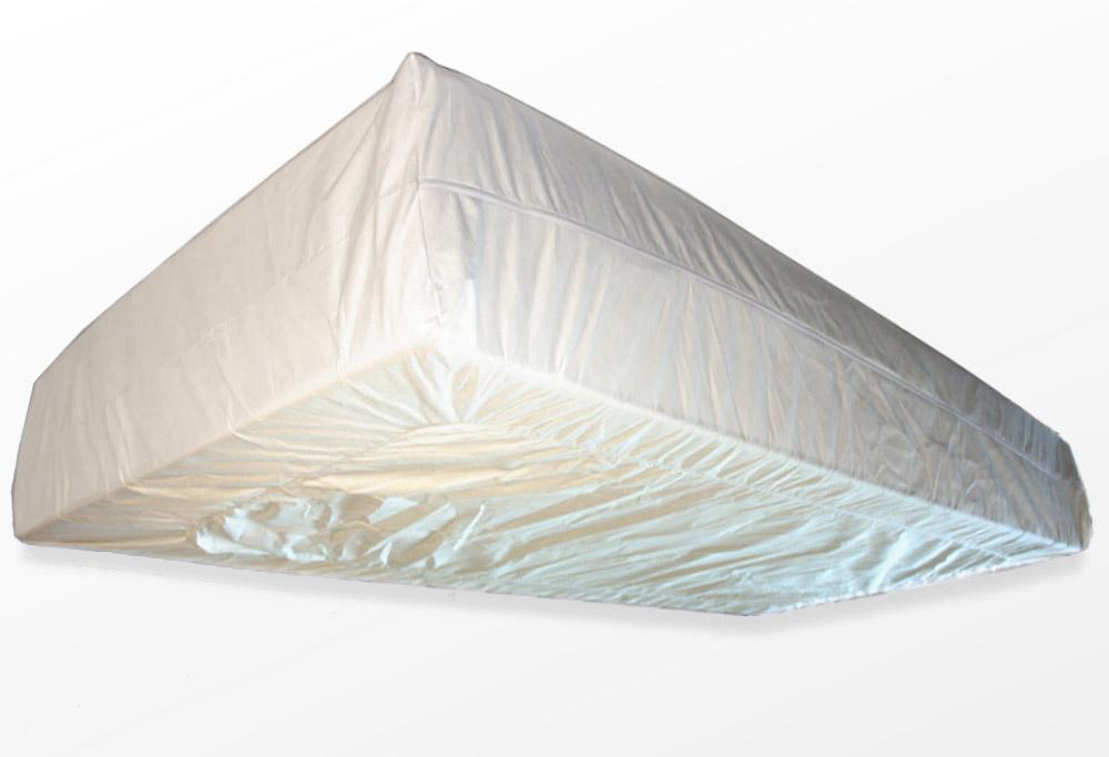 TAURO 28916 FLEX Matratzenbezug, rundum 180 x 200 cm, Encasing Milbenkotdicht Höhenverstellbar 14-20 cm, Milbenschutz für Hausstauballergiker Jetzt neu: TÜV zertifiziert!